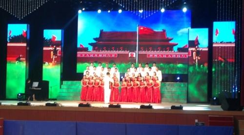 东营东胜舞台拼接屏P7.62+P6全彩LED显示屏
