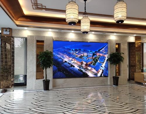 河南开封非遗展馆室内显示屏XLN-P2.5全彩系列